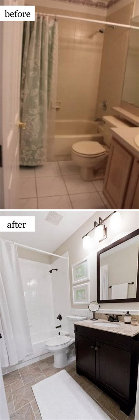 Cheap Bathroom Makeover Ideas by Before And After Makeovers 30 Awesome Bathroom