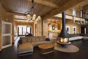 pictures of log home interiors gallery for gt homes