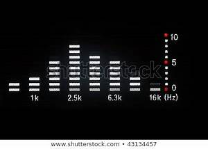 Frequency Spectrum Chart For Mixing Audio Music Equalizer Stock Photo 42118081 Shutterstock