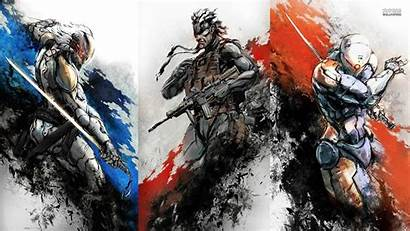 Gear Solid Metal Mgs Raiden Wallpapers Rising