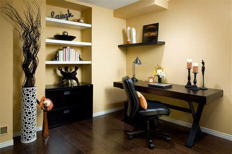 floor and decor brandon lockhart yellow home office modern home office