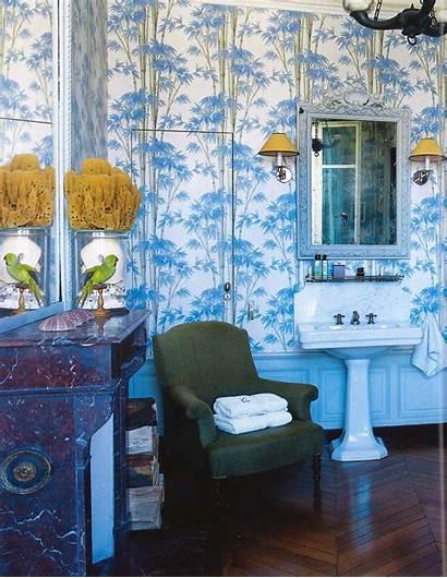 Bamboo Interiors Bathroom Bathrooms Motif Bath 1960s