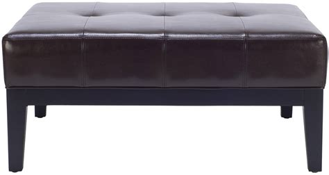 36 top brown leather ottoman coffee tables