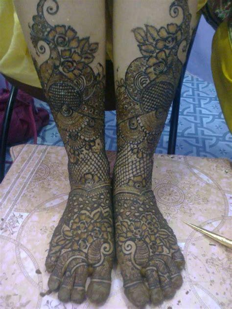 beautiful arabic bridal mehndi designs  legs fashion