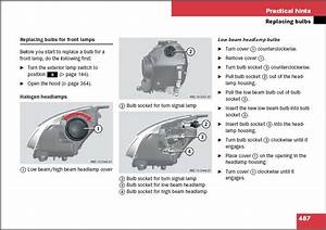 How Do I Replace The Left Low Beam For A Mercedes R350