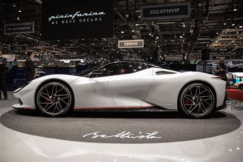 pininfarina battista    electric supercar