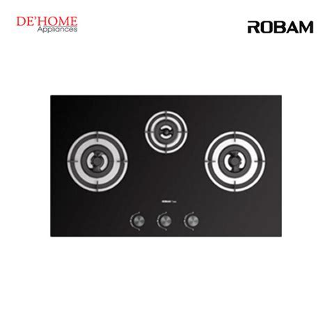 Robam 3 Burners Built In Kitchen Gas Hob B396   DE'HOME