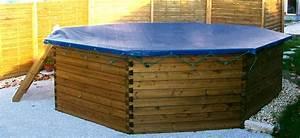 couverture piscine hors sol bois myqtocom With piscine en bois semi enterree pas cher 9 les points forts dune piscine hors sol en bois