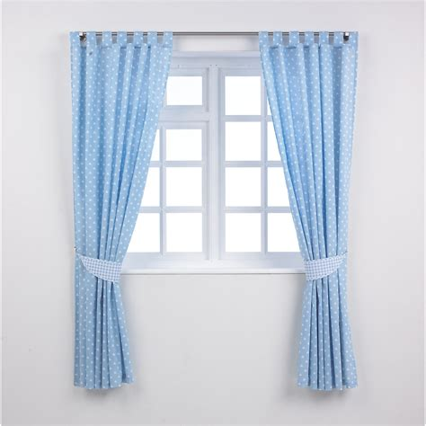 mothercare baby bedding tab top curtains with tie backs ebay