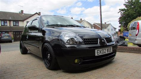 renault clio 2002 modified modified renault clio 1 2 dynamique thinkcar