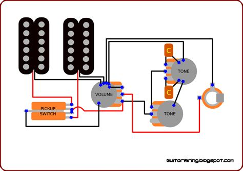 Tone Pot Wiring the guitar wiring diagrams and tips guitar wiring