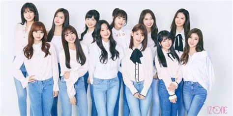izone reveal    official group profile