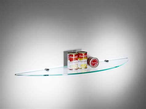mensole vetro spicchio mensola da cucina in vetro trasparente 90 cm