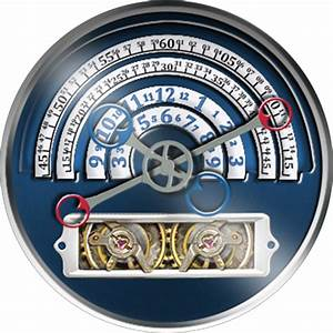 Analog Skeleton Blue  U2013 Watchfaces For Smart Watches
