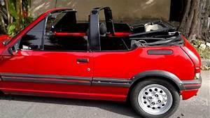 Peugeot 205 Cabriolet : peugeot 205 cti 91 cabriolet pininfarina 1 9 youtube ~ Medecine-chirurgie-esthetiques.com Avis de Voitures