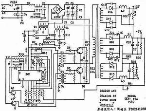Computer Power Supply Pin Diagram
