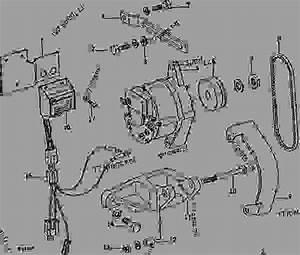 Alternator  Regulator  And Mounting Brackets  Tractor Serial No  229460