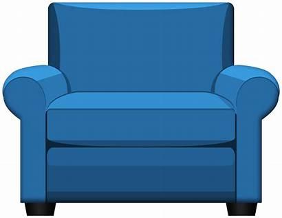 Armchair Clipart Brown Furniture Transparent Yopriceville