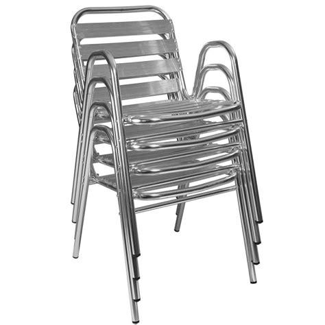 table bistrot aluminium chaises terrasse aluminium achat mobilier de restaurant
