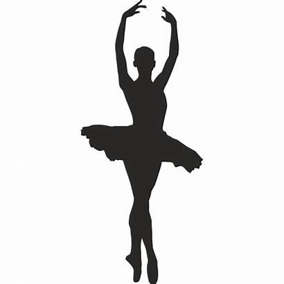 Silhouette Dancer Ballet Clipart Clip Dancers Dance