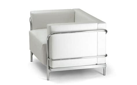 canapé entrée canapés design fauteuil cuir blanc ou noir