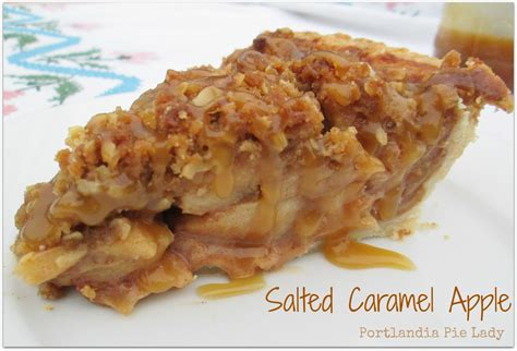 Salted Caramel Apple Pie by Salted Caramel Apple Portlandia Pie