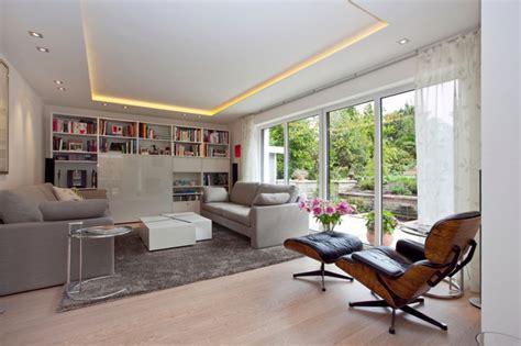 Renovierung 50er Jahre Haus  Modern Wohnzimmer