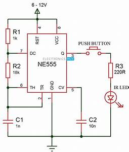 Ir Transmitter And Receiver Circuits