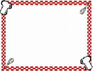 Border For Cooking - ClipArt Best
