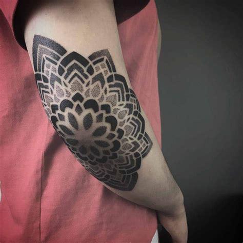 elbow tattoo mandala  tattoo ideas gallery