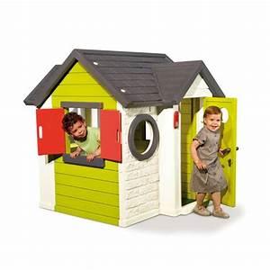 Cabane Enfant Plastique : smoby maison d 39 enfant my house pas cher achat vente maisonnettes tentes rueducommerce ~ Preciouscoupons.com Idées de Décoration