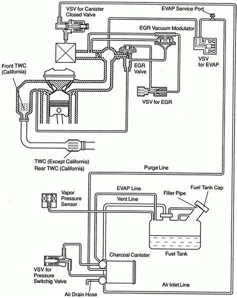 2002 Toyotum Tundra 6 Cyl Wiring Diagram by 2004 Toyota Camry Engine Parts Diagram Automotive Parts