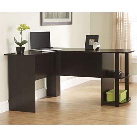 ameriwood l shaped desk ameriwood l shaped desk russet cherry modern