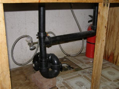 plumbing    wrong   trap