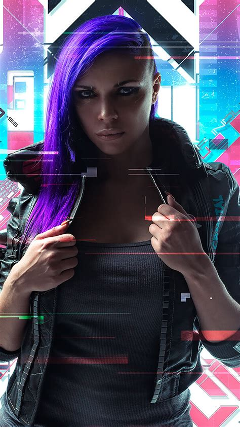 wallpaper cyberpunk  neon cosplay hd creative