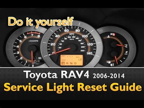 how to reset maintenance light on 2011 toyota camry toyota rav 4 service light