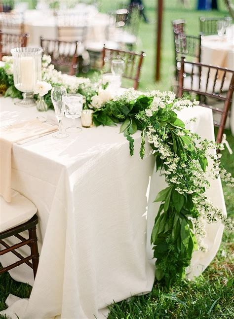 35 Gorgeous Garland Centerpieces Style Inspiration And