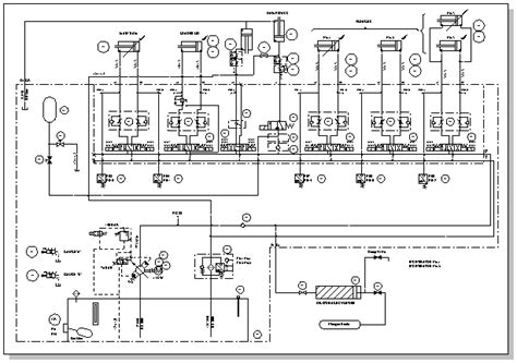 Powerpoint Hvac Wiring Diagram by Create A Pneumatic Or Hydraulic System Diagram Visio