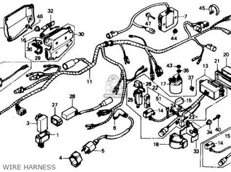 similiar honda fourtrax connection box keywords 250 diagram wiring 2006 honda 400ex wiring diagram honda 300 fourtrax