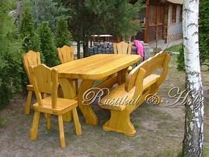 Gartentisch Holz Massiv : gartentisch holz massiv rustikal ~ Orissabook.com Haus und Dekorationen