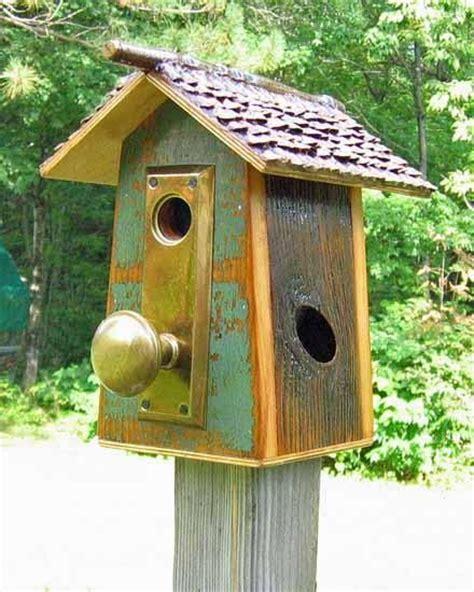 cool birdhouse designs cool door knob bird house cool garden decor pinterest facebook so cute and house