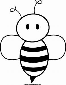 Cute Bee Drawing - ClipArt Best
