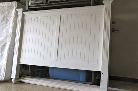 Painted Wood Headboards by Creating With The 3 Link Up Winner