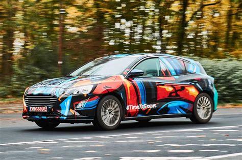 ford focus exclusive images  spy shots