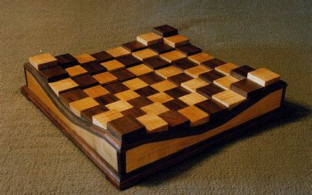 raised chess board chess board diy wood projects