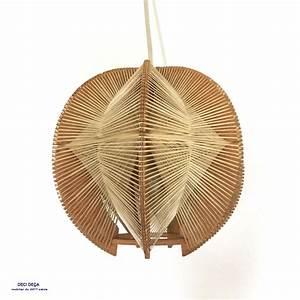 Suspension Bois Scandinave : suspension bois et fil de ci de a design meubles et objets du 20 me si cle ~ Melissatoandfro.com Idées de Décoration