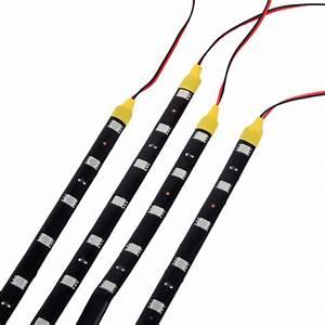 Led Leiste Auto : 4x auto led streifen 60cm licht band lampe beleuchtung ~ A.2002-acura-tl-radio.info Haus und Dekorationen