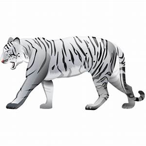 Tiger, white icon | Icon search engine