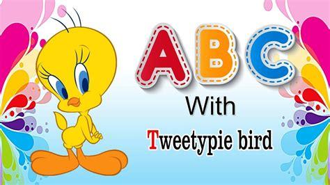 abcd rhymes  tweety kindergarten songs