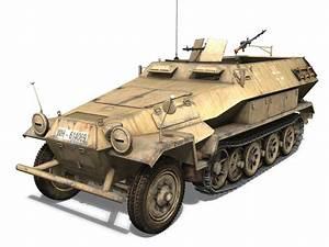 Sd Automobile : sd kfz 251 1 ausf b hanomag halftruck dak 3d model obj 3ds fbx c4d lwo lw lws ~ Gottalentnigeria.com Avis de Voitures